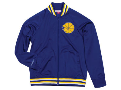 Golden State Warriors Mitchell & Ness NBA Men's Top Prospect Track Jacket