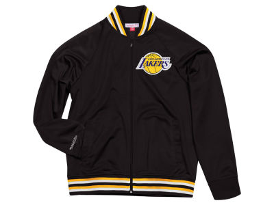 Los Angeles Lakers Mitchell & Ness NBA Men's Top Prospect Track Jacket