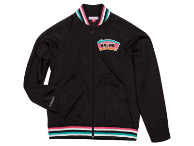 San Antonio Spurs Mitchell & Ness NBA Men's Top Prospect Track Jacket