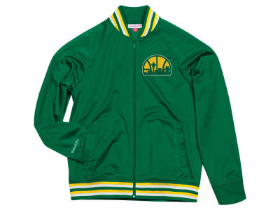 Seattle SuperSonics Mitchell & Ness NBA Men's Top Prospect Track Jacket