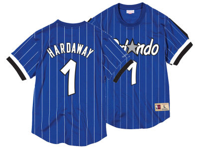 Orlando Magic Penny Hardaway NBA Men's Name and Number Mesh Crewneck Jersey