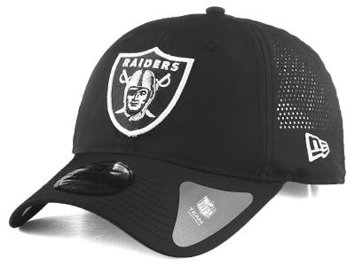 Oakland Raiders New Era NFL Performance Slick 9TWENTY Cap