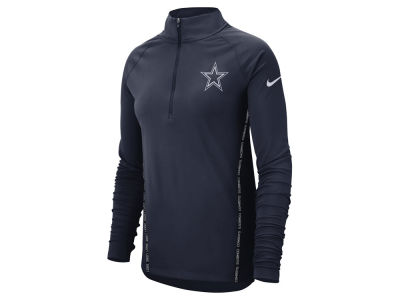 Dallas Cowboys Nike NFL Women's Element Core Half Zip Pullover