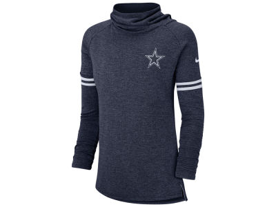 Dallas Cowboys Nike NFL Women's Funnel Neck Long Sleeve T-shirt