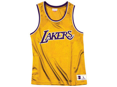 Los Angeles Lakers Mitchell & Ness NBA Men's Mesh Tank