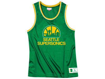 Seattle SuperSonics Mitchell & Ness NBA Men's Mesh Tank
