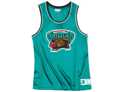 Vancouver Grizzlies Mitchell & Ness NBA Men's Mesh Tank