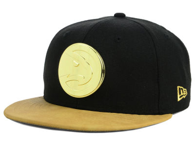 Atlanta Hawks New Era NBA Fall O'Gold 59FIFTY Cap