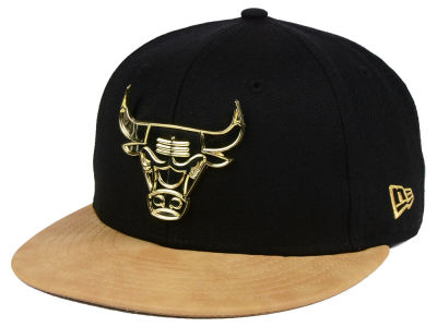 Chicago Bulls New Era NBA Fall O'Gold 59FIFTY Cap