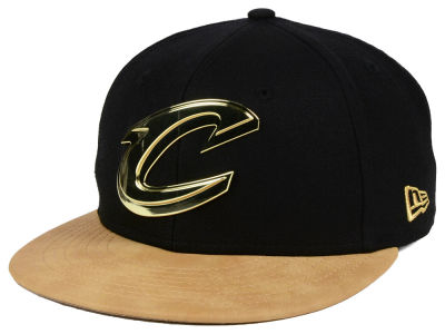 Cleveland Cavaliers New Era NBA Fall O'Gold 59FIFTY Cap