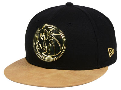 Dallas Mavericks New Era NBA Fall O'Gold 59FIFTY Cap