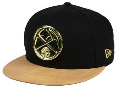 Denver Nuggets New Era NBA Fall O'Gold 59FIFTY Cap