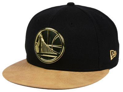 Golden State Warriors New Era NBA Fall O'Gold 59FIFTY Cap