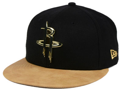 Houston Rockets New Era NBA Fall O'Gold 59FIFTY Cap