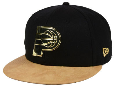 Indiana Pacers New Era NBA Fall O'Gold 59FIFTY Cap
