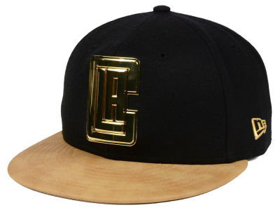 Los Angeles Clippers New Era NBA Fall O'Gold 59FIFTY Cap
