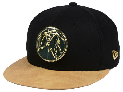 Minnesota Timberwolves New Era NBA Fall O'Gold 59FIFTY Cap