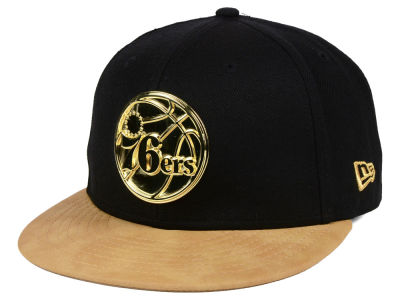Philadelphia 76ers New Era NBA Fall O'Gold 59FIFTY Cap