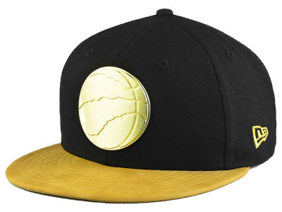 Toronto Raptors New Era NBA Fall O'Gold 59FIFTY Cap
