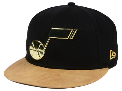 Utah Jazz New Era NBA Fall O'Gold 59FIFTY Cap