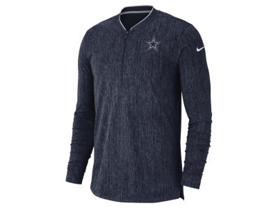 Dallas Cowboys Nike NFL Men's Coaches Quarter Zip Pullover