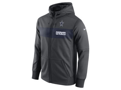 Dallas Cowboys Nike NFL Men's Seismic Therma Full Zip Hoodie