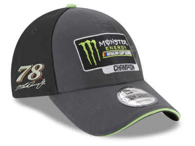 Martin Truex Jr. New Era 2017 Monster Energy Cup Champ 9FORTY Cap