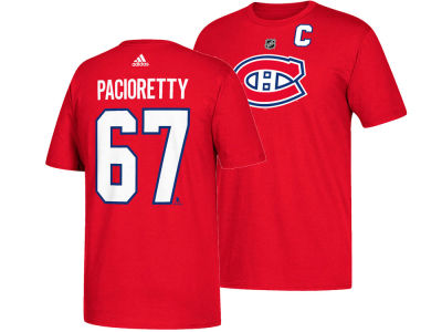Montreal Canadiens Max Pacioretty adidas NHL Men's Silver Player T-shirt