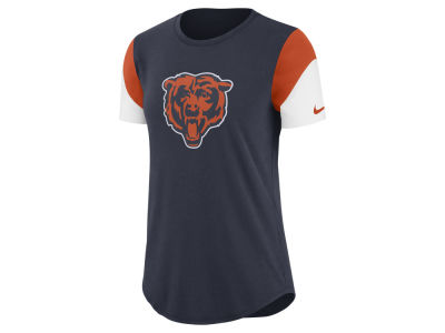 Chicago Bears Nike NFL Women's Tri-Fan T- Shirt
