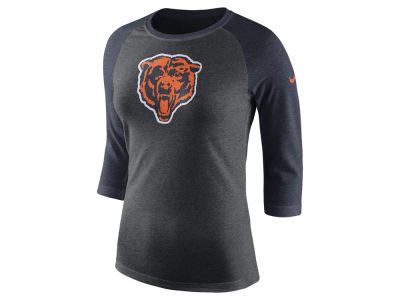 Chicago Bears Nike NFL Women's Historic Logo Raglan T-shirt