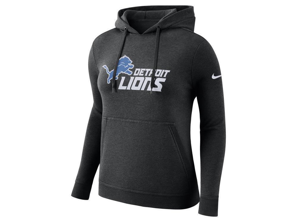 Detroit Lions Nike NFL Women s Club Pullover Hoodie  e7b062095