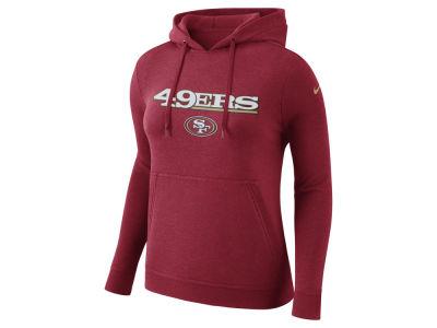 4606c01ad San Francisco 49ers Nike NFL Women s Club Pullover Hoodie
