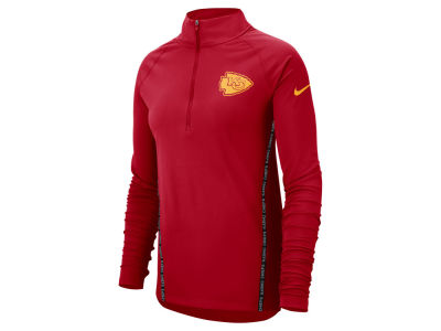 Kansas City Chiefs Nike NFL Women's Element Core Half Zip Pullover
