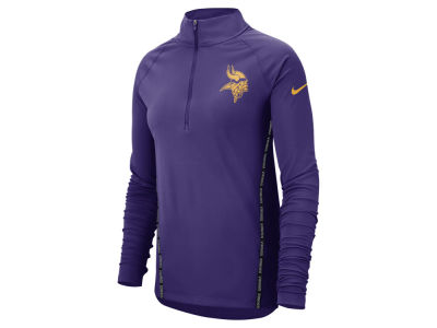 Minnesota Vikings Nike NFL Women s Element Core Half Zip Pullover 4c73d8a5d