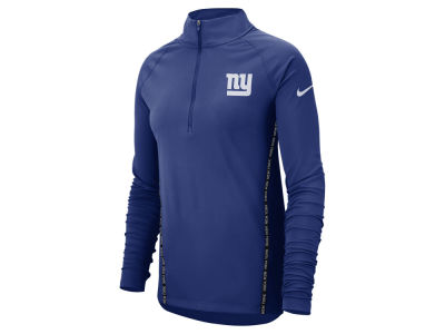 New York Giants Nike NFL Women's Element Core Half Zip Pullover