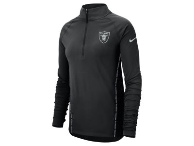 Oakland Raiders Nike NFL Women's Element Core Half Zip Pullover