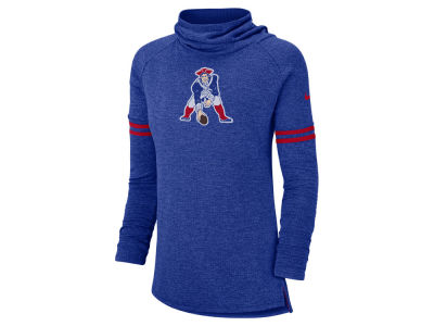 New England Patriots Nike NFL Women's Funnel Neck Long Sleeve T-shirt
