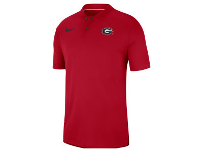 Georgia Bulldogs Nike 2018 NCAA Men's Elite Coaches Polo