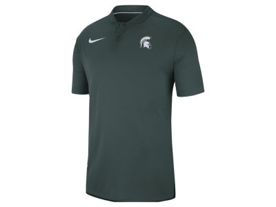 Michigan State Spartans Nike 2018 NCAA Men's Elite Coaches Polo