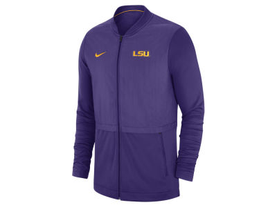 LSU Tigers Nike NCAA Men's Elite Hybrid Full Zip Jacket