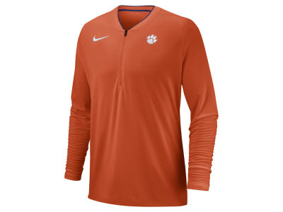 Clemson Tigers Nike 2018 NCAA Men's Coaches Quarter Zip Pullover
