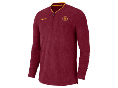 Iowa State Cyclones Nike 2018 NCAA Men's Coaches Quarter Zip Pullover