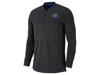Kentucky Wildcats Nike 2018 NCAA Men's Coaches Quarter Zip Pullover