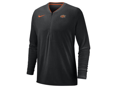 Oklahoma State Cowboys Nike 2018 NCAA Men's Coaches Quarter Zip Pullover