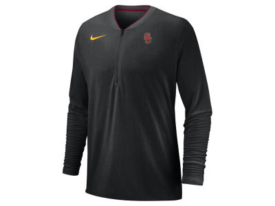 USC Trojans Nike 2018 NCAA Men's Coaches Quarter Zip Pullover