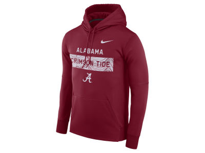 Alabama Crimson Tide Nike NCAA Men's Staff Pullover Hooded Sweatshirt