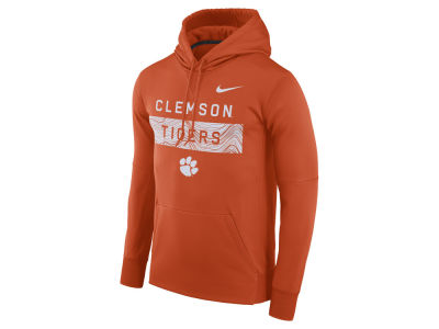 Clemson Tigers Nike NCAA Men's Staff Pullover Hooded Sweatshirt