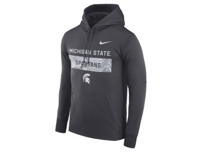 Michigan State Spartans Nike NCAA Men's Staff Pullover Hooded Sweatshirt