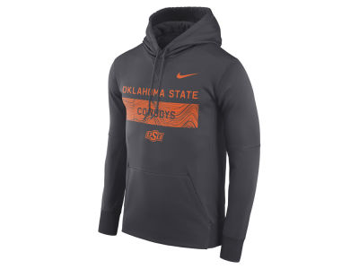 Oklahoma State Cowboys Nike NCAA Men's Staff Pullover Hooded Sweatshirt