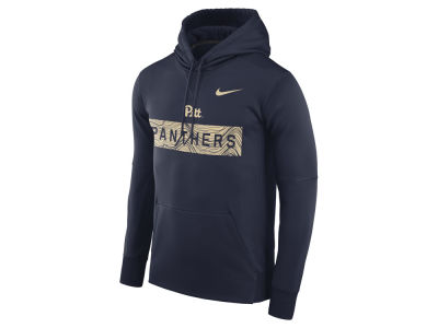 Pittsburgh Panthers Nike NCAA Men's Staff Pullover Hooded Sweatshirt